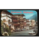 2 Leavenworth Washington Trinket Trays Dish Souvenir The Bavarian Village - $9.99
