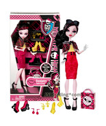 Year 2013 Monster High Aren't These Shoes Just a Scream? 11 Inch Doll DR... - $34.99