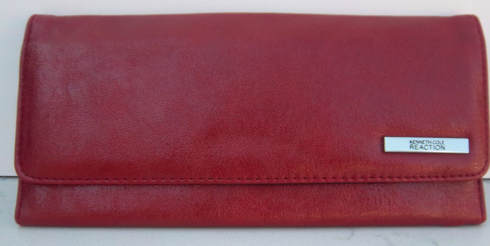 8365ac4c89e5 Kenneth Cole Reaction Women s Red Tri-fold and 50 similar items