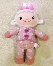 "Disney Nap Time Pajama Plush Lamb 12"" Doc McStuffins Talks, Sings & Ligh... - $14.60"