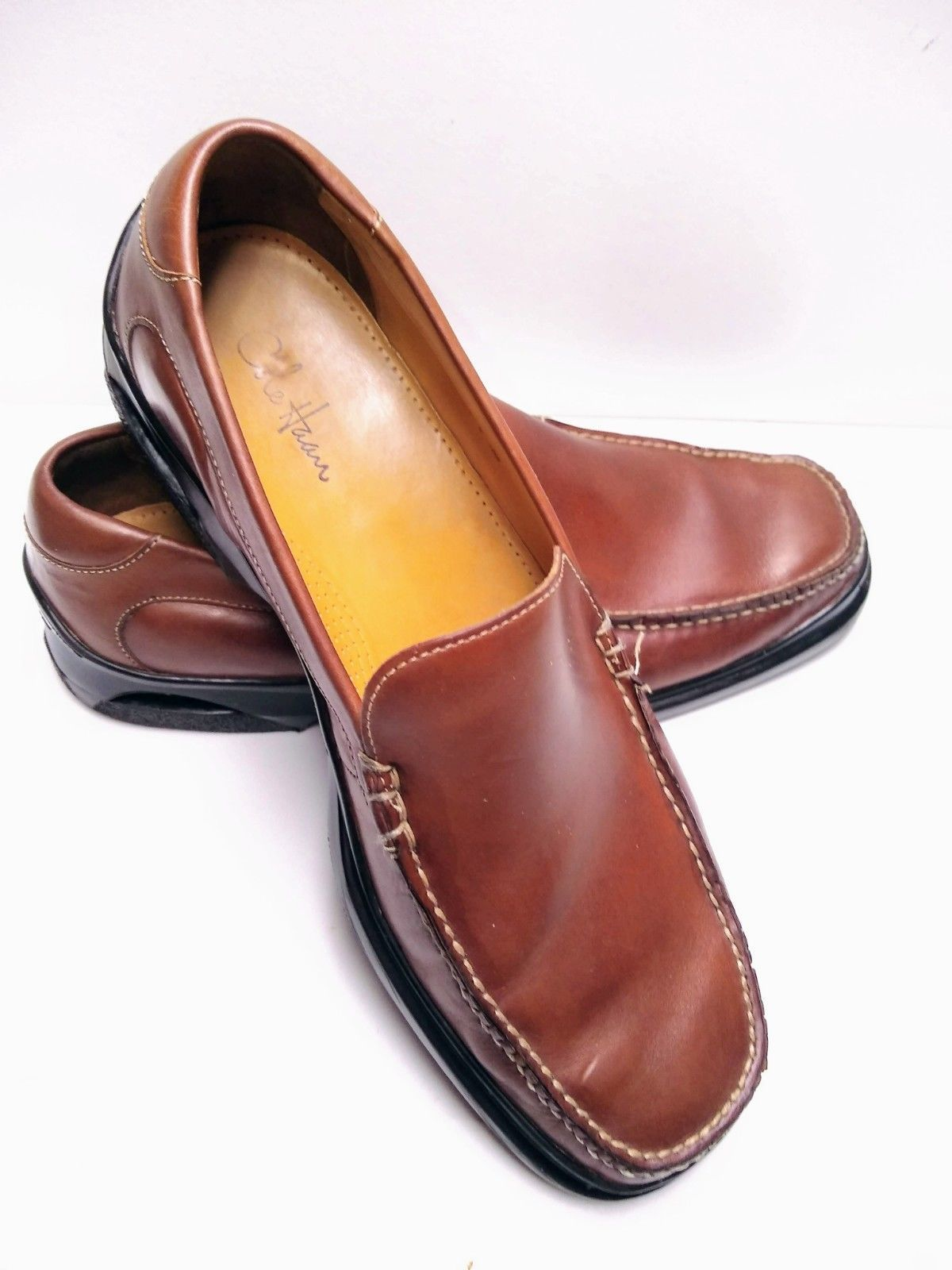 ffcc4f996ac 57. 57. Previous. Cole Haan Air Santa Barbara Men s Slip-on Loafers Men s  12 Brown Leather · Cole ...