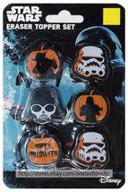 RUZ* 6pc Set DISNEY Party Favors ERASERS TOPPER SET Halloween *YOU CHOOSE* New! image 3
