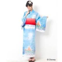 Disney Store Tokyo Secret honey Yukata Ariel Set of yukata / band Women  - $481.14