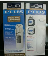 2-Pack PUR PLUS Pitcher Filters CRF-750 fits PUR PLUS Pitchers Dispensers - $14.84