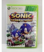 Sonic Generations Xbox 360 Complete - $9.99