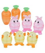 Happy Easter Basket Kids Toddlers Gift Children Pre Made Eggs Goodies Pl... - $10.88