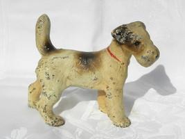 Antique Hubley Cast Iron Standing Fox Terrier Dog Doorstop or Bookend #2 - $149.99