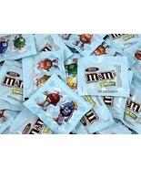 M&M's Milk Chocolate Candy Light Blue Fun Size Pouches, Bulk - $19.99