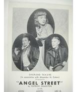 Angel Street Postcard Golden Theatre John Emery Judith Evelyn Leo Caroll - $69.29