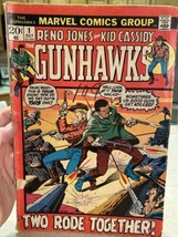 Gunhawks #1 Reno Jones & Kid Cassidy! Bronze Age Marvel Comics Western 1... - $9.75