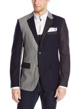 MARC ECKO CUT & SEW GEMINI BLAZER SPORT COAT Casual Dress JACKET $230 NWT S SM - €47,24 EUR