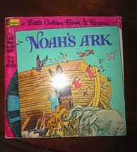 Vintage Noah's Ark Record 45 RPM Little Golden Book + Record - $14.85