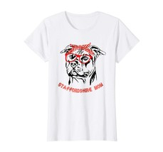 Dog Fashion - American Staffordshire America Shirt - Funny dog mom shirt... - $19.95+
