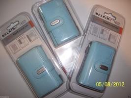 Belkin  Leather Pouch for iPod Minis (Blue) Belkin F8E579-BLU-APL Leathe... - $18.81