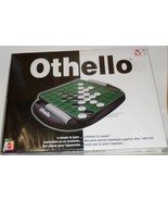 Mattel Othello Board Game 2005 strategy 2 player black white chips - $19.77