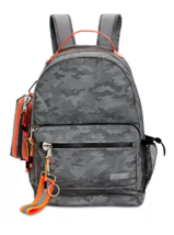 STEVE MADDEN REFLECTIVE BACKPACK CAMO/GREY/ORANGE - $53.99