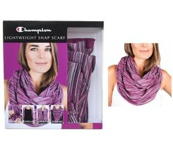 Champion Lightweight Snap Scarf Shrug Drape Choose Color Wear Different Ways NIP image 7