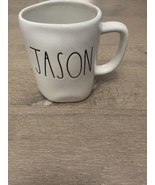 Rae Dunn Name Mug LL Large Letter New JASON - $25.00
