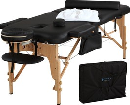 Portable Massage Table Bed All Inclusive Sheets Included Adjustable Carr... - $195.61