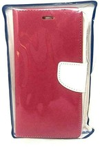 Original Red Smartphone Cover Solid Red Wallet Case Tracfone For Apple I... - $5.85