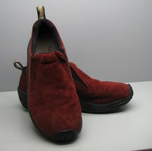 Merrell Russet Red SHOES Woman's Size 7 Jungle MOC Loafers Slip On - $18.80