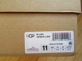 UGG Slippers Luci Slip On Sneakers Lavender fog Size 11 NEW image 8