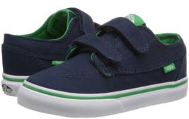 Vans Brigata V Taille Us 4 M Enfant Bébé Chaussures Pop Bleu Kelly Vert