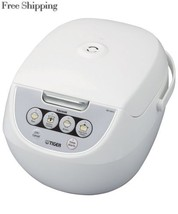 Tiger Corporation JBV-A10U-W 5.5-Cup Micom Rice Cooker with Food Steamer... - €78,18 EUR