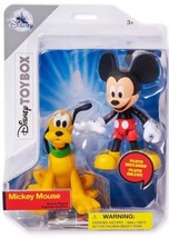 Disney Parks Exclusive ToyBox Mickey Mouse and Pluto Action figure - $23.84