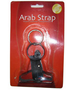 Arab Strap Metal Rings Adjustable Leather Harness - $19.99