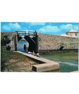 Bermuda Postcard Somerset Bridge World's Smallest Drawbridge Boat - $2.16