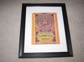 "Framed Jimi Hendrix Experience 1968 Concert Poster, Joshua Light Show14""... - $27.16"