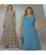Simplicity It's So Easy Sewing Pattern A1185 Dress Uncut - $9.99