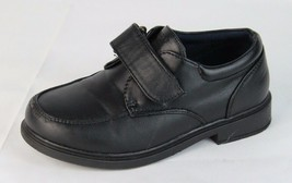 Tommy Hilfiger Robbie youth kids boys shoes dress black size 12 - $13.99