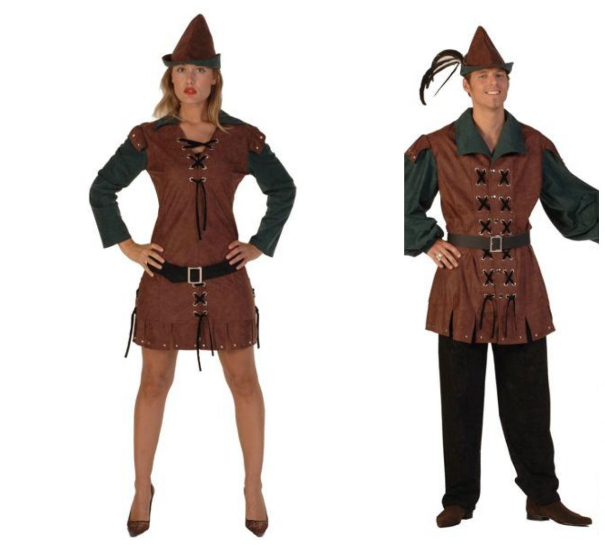 Deluxe Ladies Robin Hood Costume image 2