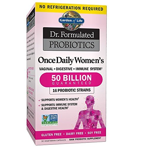 Garden of Life Dr. Formulated Once Daily Women's Shelf Stable Probiotics 16 S... - $37.80