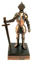 Knight with Sword Die Cast Metal Collectible Pencil Sharpener - $6.90
