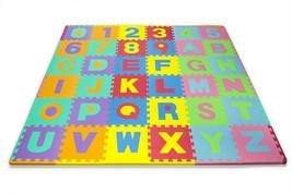 Matney Kid's Foam Floor Alphabet and Number Puzzle Mat, Multicolor 36 Piece - $755,03 MXN