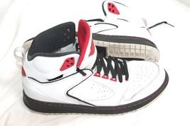 Nike Air Jordan Sixty Club Wit Blk Gym Rd Size 10.5 535790-101 Retro J's Sneaker - $59.40