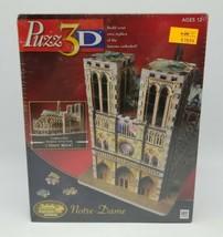 Puzz 3D Notre Dame Cathedral 366 Pcs Advanced Puzzle Milton Bradley 2005 Sealed! - $39.48