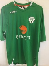Large Umbro Eircom Ireland National Soccer Team Jersey - $17.81