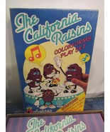 Vtg 1987 California Raisins Colorforms 718 Cartoon Play Set  - $14.86