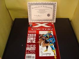 X-Factor # 100 • Autographed by Penciler Jan Duusema 509 / 10000• W/ Cer... - $11.82