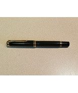 Vintage Pelikan M600 Black Rollerball Pen w/ Removable Cap Made In W. Germany - $247.50