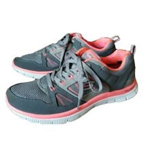 Skechers Flex Appeal with Memory Foam Running  Walking Womens 11727/BKW Size 7.5 - $27.67