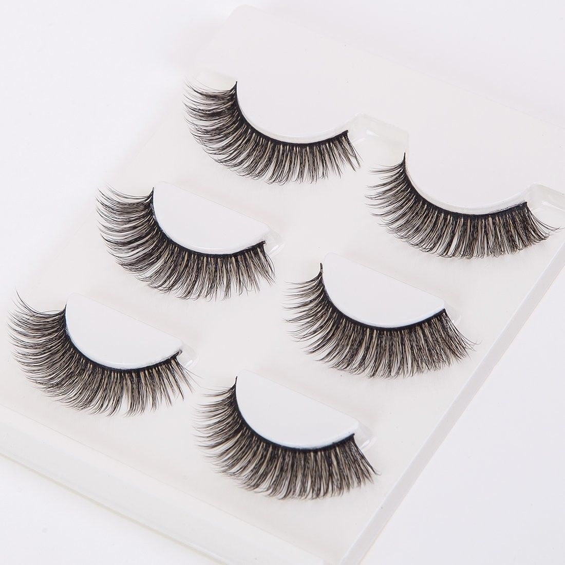 Primary image for 3Pair Long False Eyelashes 3D Thick Natural Fake Eyelash Voluminous Makeup for W