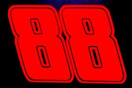 Dale Earnhardt Jr. 2 SIZES #88 Decal Sticker 7 YEAR WARRANTY Car Race na... - $5.63+