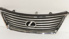 07-09 Lexus ES350 Upper Bumper Radiator Chrome Grill Grille W/Emblem image 2