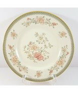 "Minton Jasmine Bread Plate 6-5/8"" Ivory Bone China Pink Floral - $11.88"