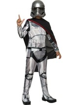 Star Wars The Force Awakens Captain PHASMA Child Costume Medium Hallowee... - €17,71 EUR
